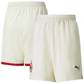 AC Milan Away Shorts 2021-22-Kids