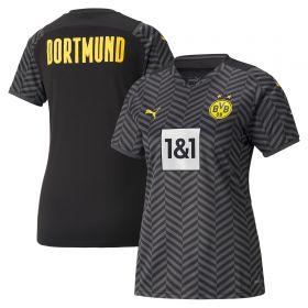 Borussia Dortmund Away Shirt 2021-22-Womens