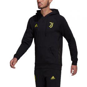 Juventus Travel Hoodie-Black