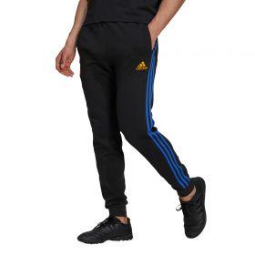Real Madrid Sweat Pants-Black