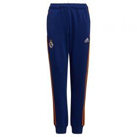 Real Madrid Sweat Pants-Blue-Kids