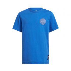 Real Madrid T-Shirt-Blue-Kids