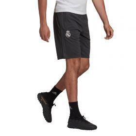 Real Madrid Travel Shorts-Grey