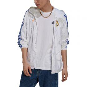 Real Madrid Windbreaker-White