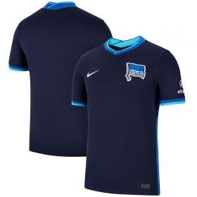 Hertha Berlin Away Stadium Shirt 2021-22