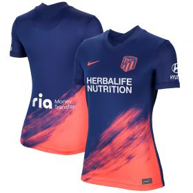 Atlético de Madrid Away Stadium Shirt 2021-22 - Womens