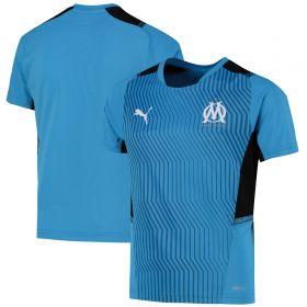 Olympique de Marseille Training Jersey-Sky Blue-Kids