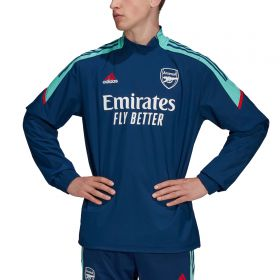 Arsenal European Training Hybrid Top-Blue