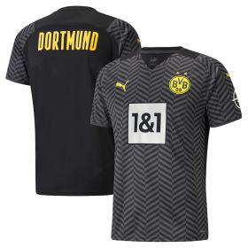 Borussia Dortmund Away Shirt 2021-22-Kids