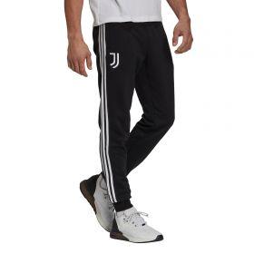 Juventus 3 Stripe Sweat Pants-Black
