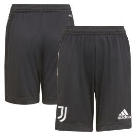 Juventus Away Shorts 2021-22-Kids