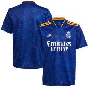 Real Madrid Away Shirt 2021-22-Kids