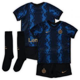 Inter Milan Home Stadium Kit 2021-22 - Little Kids