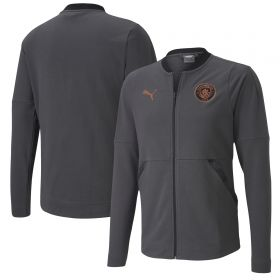 Manchester City Casuals Jacket - Dark Grey