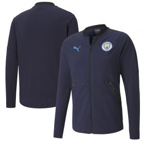 Manchester City Casuals Jacket - Navy