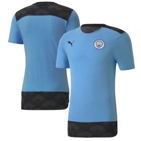 Manchester City Casuals T-Shirt - Sky Blue