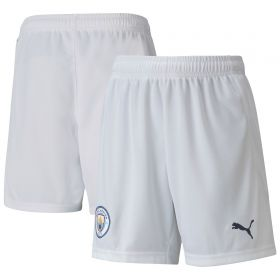 Manchester City Home Shorts 2020-21 - Kids