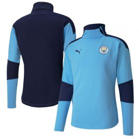 Manchester City Training Fleece - Sky Blue