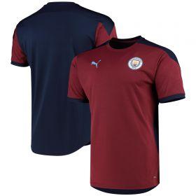 Manchester City Training Jersey - Burgundy