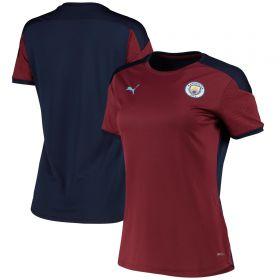 Manchester City Training Jersey - Burgundy - Womens