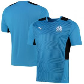 Olympique de Marseille Training Jersey-Sky Blue