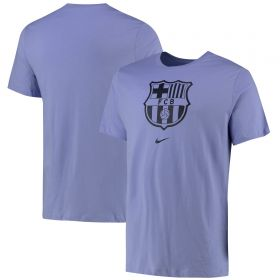 Barcelona Crest T-Shirt - Lilac