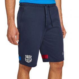 Barcelona Travel Shorts - Dark Navy