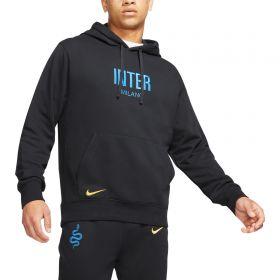 Inter Milan Hoodie - Black