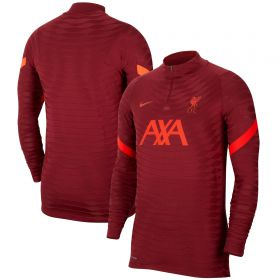 Liverpool Elite Drill Top - Red