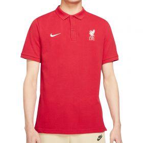 Liverpool Pique Polo - Red