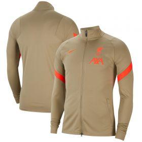 Liverpool Strike Track Jacket - Khaki