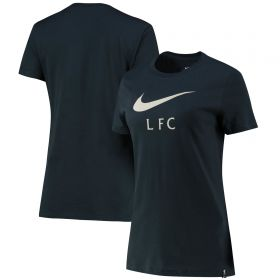 Liverpool Swoosh T-Shirt - Green - Womens