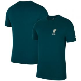 Liverpool Travel T-Shirt - Teal