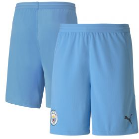 Manchester City Authentic Home Change Shorts 2020-21