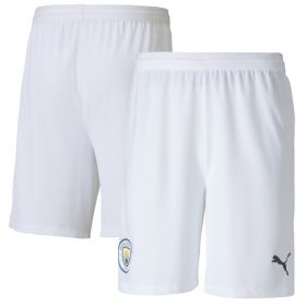 Manchester City Authentic Home Shorts 2020-21