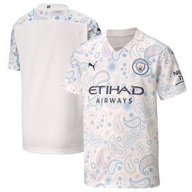 Manchester City Third Shirt 2020-21 - Kids