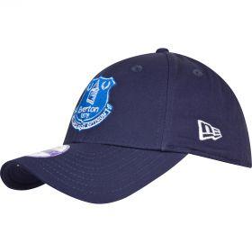 Everton New Era Core Cap - Navy - Junior