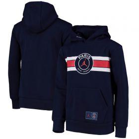 Paris Saint-Germain x Jordan Hoodie - Navy - Older Boys