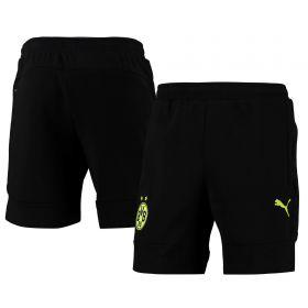 Borussia Dortmund Casuals Shorts-Black