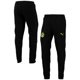 Borussia Dortmund Casuals Sweat Pants-Black