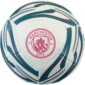 Manchester City Puma ICON Mini Football-White