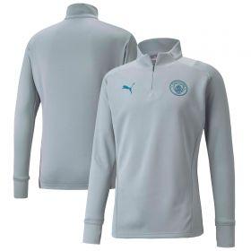 Manchester City Training Fleece-Grey