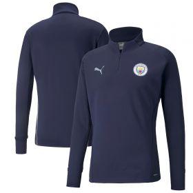 Manchester City Training Fleece-Navy