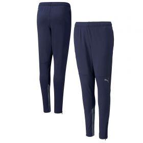 Manchester City Training Zipped Pants-Navy-Kids