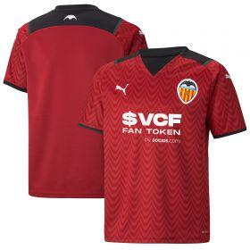 Valencia Away Shirt 2021-22-Kids