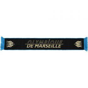 Olympique de Marseille Scarf - Black