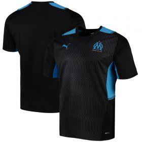 Olympique de Marseille Training Jersey-Black