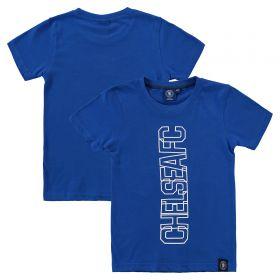 Chelsea Graphic Overlay T-Shirt - Blue - Infant Boys