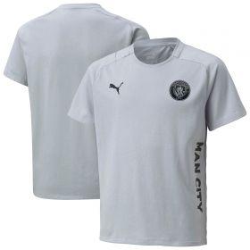 Manchester City Casuals T-Shirt-Grey-Kids