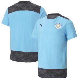 Manchester City Casuals T-Shirt - Sky Blue - Kids